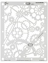 Artool Freehand Airbrush Templates, Steam Punk Fx Template - Klockworx