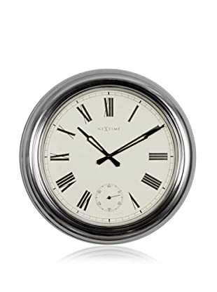 NeXtime Waterloo Wall Clock (Silver)
