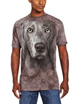 The Mountain Men's Weimeraner T-Shirt, Gray, Large