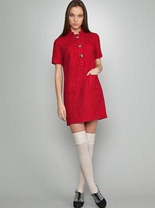 Dolores Promesas Vestido Bolsillos (Rojo)