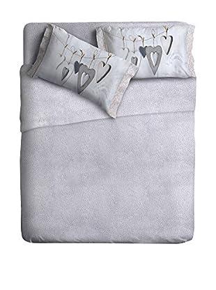 Ipersan Betttuch und Kissenbezug Fine-Art White Bang