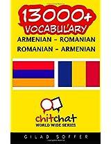 13000+ Armenian - Romanian, Romanian - Armenian Vocabulary