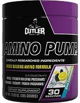 Jay Cutler Elite Series Amino Pump, Blue Lemon, 285 Gm