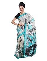 Parichay Women's Silk Saree(Sky Blue)