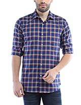 Allen Solly Men Comfort Fit Shirt_AMSF515G02423_46_Navy