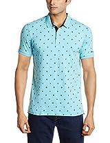 Basics Men's Polo Cotton T-Shirt