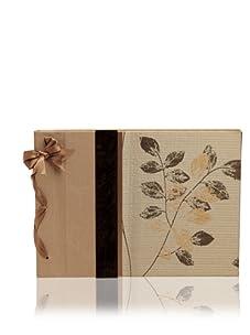 Molly West Café Shimmer-Large Paper Album, Brown