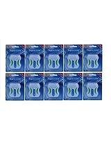 Supraclean Waxed Dental Floss Green Box (Pack of 10)