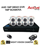 ACTIVE 8CH DVR DOM NIGHTVISION CCTV CAMERA COMBO