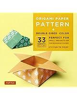 "Origami Paper - Pattern - 6 3/4"" - 33 Sheets: (Tuttle Publishing)"