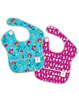Bumkins Disney Baby Waterproof Super Bib, Princess, 6-24 Months