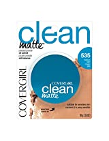 COVERGIRL Clean Matte Pressed Powder Medium Light .35 oz.