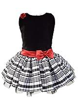 Faye Black & White Tutu Dress 12-18Months