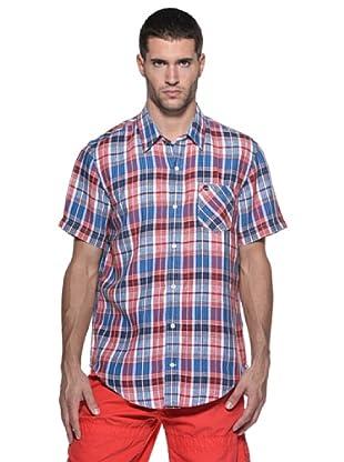 Timberland Camisa Pelham (Rojo/Azul)