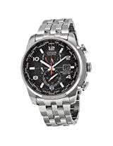 Citizen Eco Drive Black Dial Stainless Steel Men'S Watch - Czat9010-52E