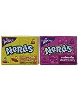 Mini Wonka Nerds Mix, 24 Packages- 0.44oz Each