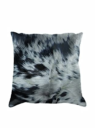 Natural Brand Torino Cowhide Pillow, Black & White