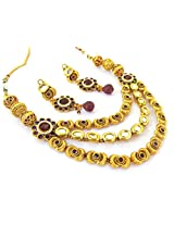 Megh Craft Women's Wear One Gram Gold Kundan Jewellery JWOG160