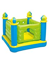 "Intex Jr. Jump-O-Lene Castle Inflatable Bouncer, 52"" X 52"" X 42"", for Ages 3-6 by Intex"