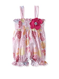 Baby Nay Smocking Balloon Romper (Geisha Daizy)
