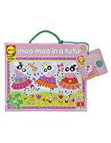ALEX Toys Little Hands Giant Puzzle Moo Moo In Tutus