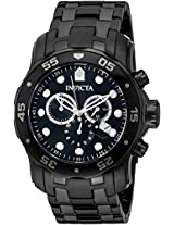Invicta Analog Black Dial Men's Watch - 76