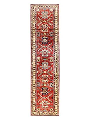 Bashian Rugs One-of-a-Kind Hand Knotted Kazak Rug, Red, 2' 7