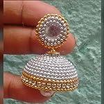 Grand jhumka by Sayee Creation