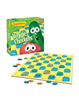 VeggieTales Veggie Checkers Board Game