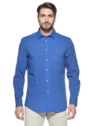 Nautica Camisa Hombre (Azul)