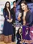 Katrina Kaif Style Blue Gown - LMMSL71