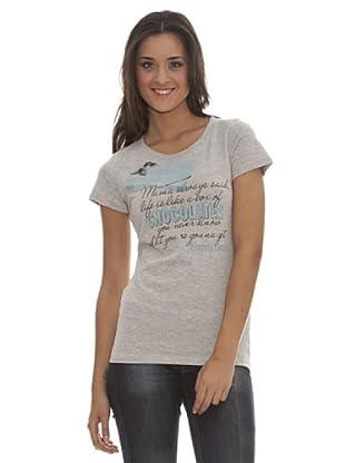 Paramount Camiseta Mama Chocolate (Gris Jaspeado)