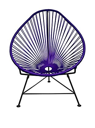 Innit Designs Acapulco Chair, Purple/Black