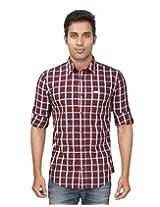 Truccer Basics Men's Premium Slim Fit Casual Shirt