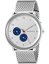 Skagen End-of-season Hald Analog White Dial Men's Watch - SKW6187