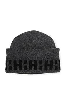 Hermès Men's Cashmere Hat (Gray/Black)