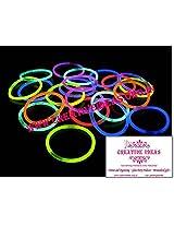 Glow Sticks(Red, Blue, Green, Yellow,Orange,Pink) - Party Light Bracelets High Quality