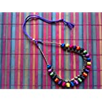 Multi Fabric Traditional Necklace