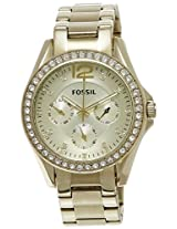 Fossil Analog Multi-Color Dial Women's Watch - ES3203