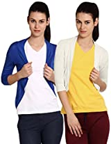 Softwear Womens Viscose Shrug Pack of 2