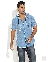 In The Hood Shirt-Medium Blue-42