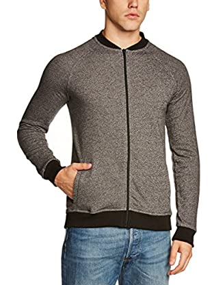 Selected Homme Chaqueta Felpa Andalusite (Negro)