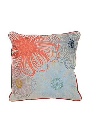 Villa Home Blossom Pillow, Multi