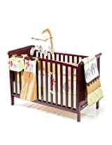 Cot bed 3-In-1 cherry-aspen