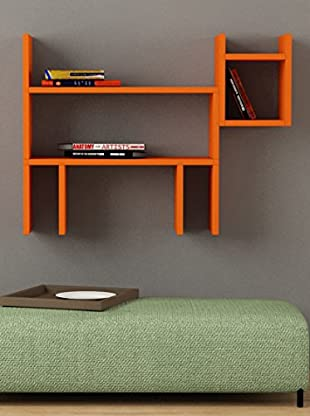 Decortie by Homemania Estante Cane (Naranja)