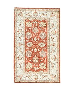 L'Eden del Tappeto Teppich Ferahan Special beige/ziegelrot 130t x t81 cm