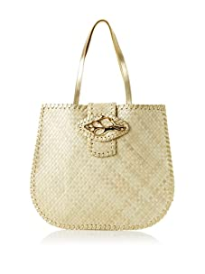 Felix Rey Women's Tortola Tote with Shell (Ivory)