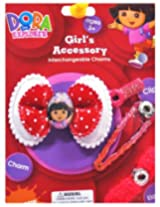 Disney Dora On Red Polka Bow