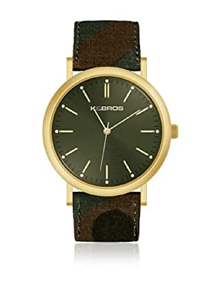 K&BROS Reloj 9490 (Verde Camuflaje)