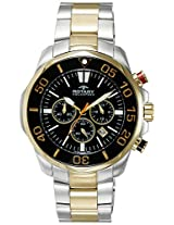 Rotary Analog Black Dial Men's Watch-AGB00067C04